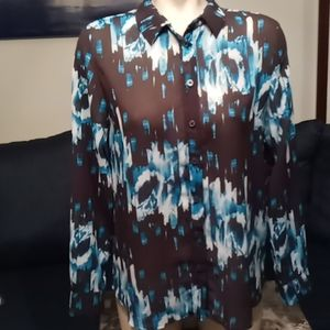 Derek Lam Sheer Blouse